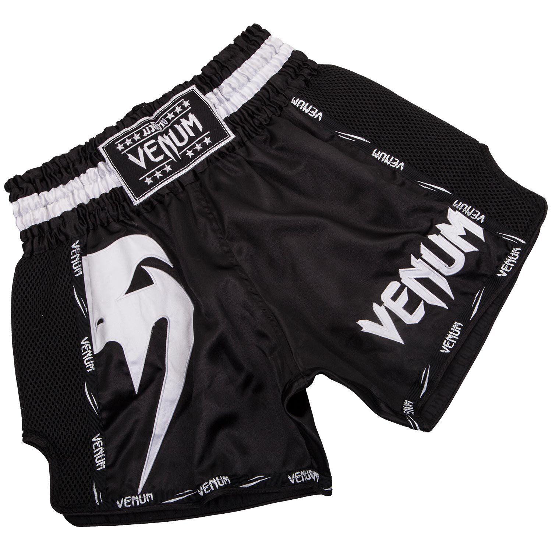 Venum Mma Gigante Muay Thai Lotta Pantaloncini Nero Arti Marziali tuttienauominito
