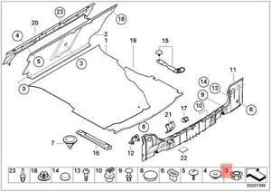 Genuine BMW E38 E39 E46 Saloon Battery Wiring Cap x10 pcs OEM ...