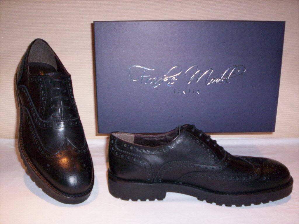 Frankie inglesine Model scarpe classiche eleganti inglesine Frankie casual uomo pelle 41 42 43 44 097f37