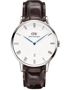 Daniel-Wellington-Watch-1122DW-Dapper-York-38MM-Croc-Brown-Leather-COD-PayPal