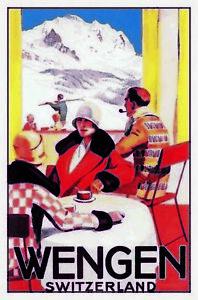Wengen-Switzerland-Suisse-Suisse-Tole-Bouclier-Bouclier-Tin-Sign-20-x-30-cm-cc0516