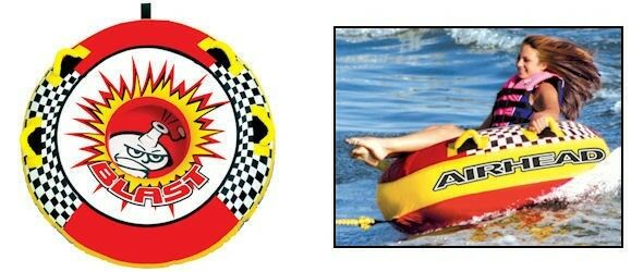Airhead BLAST 1 Person Towable Tube AHBL-1 Could Use For Snow Sled  NEW IN BOX