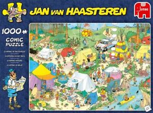 Jumbo-Games-Camping-in-the-Forest-by-Jan-van-Haasteren-1000-piece-jigsaw