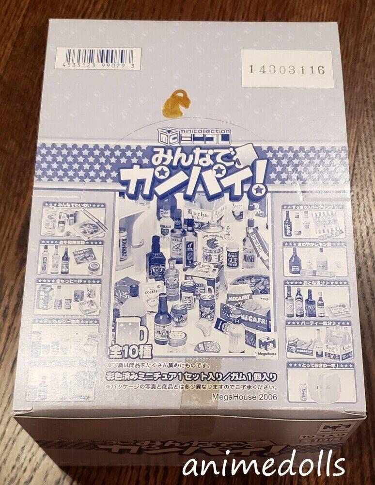 Megahouse miniaturas todos salud Set Completo De 10 En Caja Nuevo 2006 Raro Re-ment