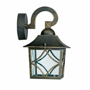 Image Is Loading Homebase Outdoor Lighting Seville Lantern Garden Patio Vintage