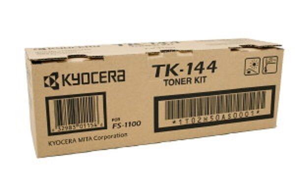 Kyocera Genuine TK-144 TK144 Black Toner Kyocera FS-1100