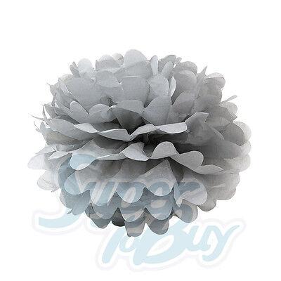 "Paper Tissue Pom Poms 8"" 10"" 12"" 14"" 16"" Wedding Party Festival Flower Pompom"