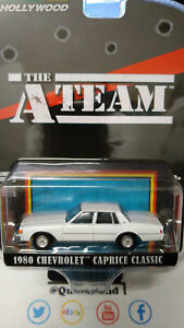 Greenlight Hollywood Ateam 1980 Chevrolet Caprice Classic (NG62)