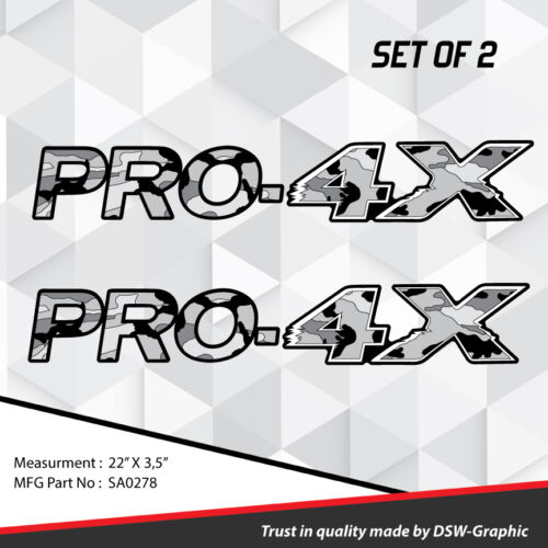 4X4 SPORT OFFROAD DECAL STICKER FITS TITAN PRO-4X FRONTIER XTERRA SUV SA0278