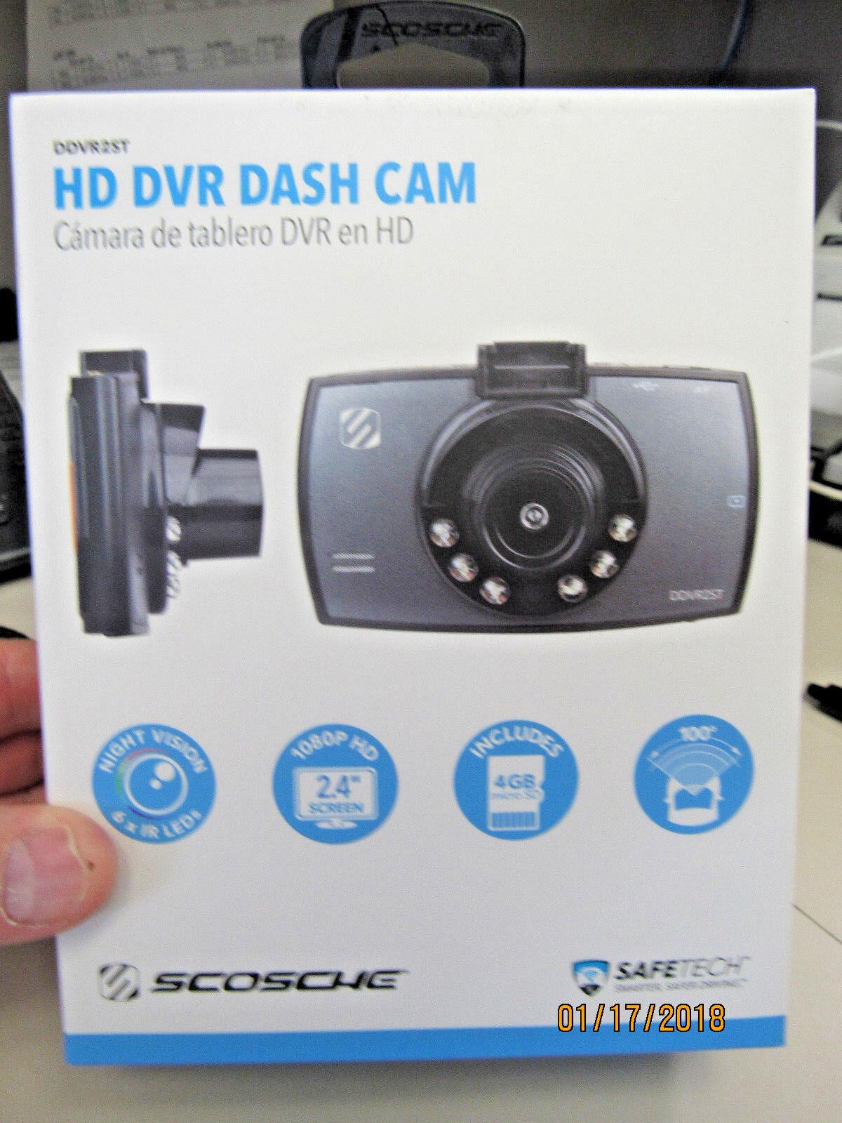 Scosche DDVR2-ST1 HD Digital Video Camera Record For Dash