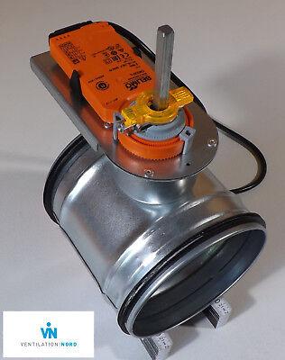 Absperrklappe dtbu ø180 dense wickelfalzrohr Logement Ventilation Belimo cm230a 230 V