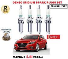 für Mazda 3 BM 1.5 P5Y1 2013- > NEU Motor Iridium Zündkerzen Set
