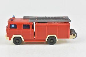 Wiking-Mercedes-Benz-Feuerwehr-Fire-Department-Ladder-Truck-HO-1-87-Scale