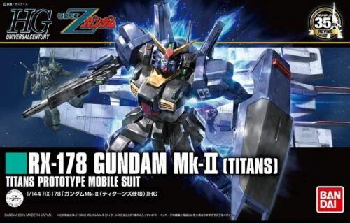 Bandai Spirits HGUC RX-178 Gundam MK-II Titans HG 1//144 Model Kit USA Seller