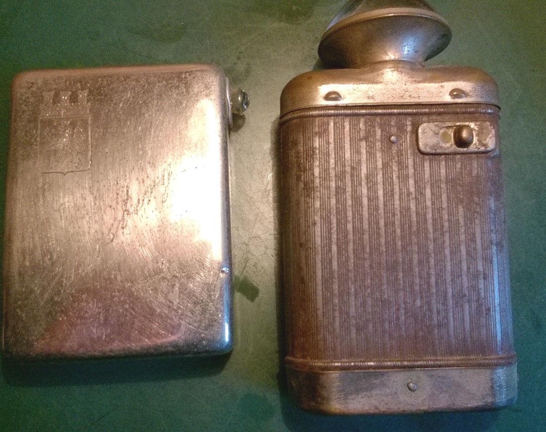 2 x Taschenlampen ohne Hersteller Bezeichnung ,40er-60er Jahre,Marsberg,