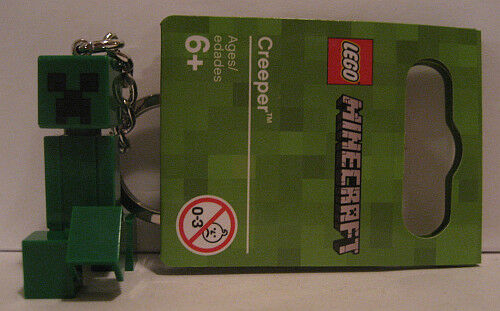 1 LEGO® MINECRAFT SCHLÜSSELANHÄNGER Ihrer Wahl