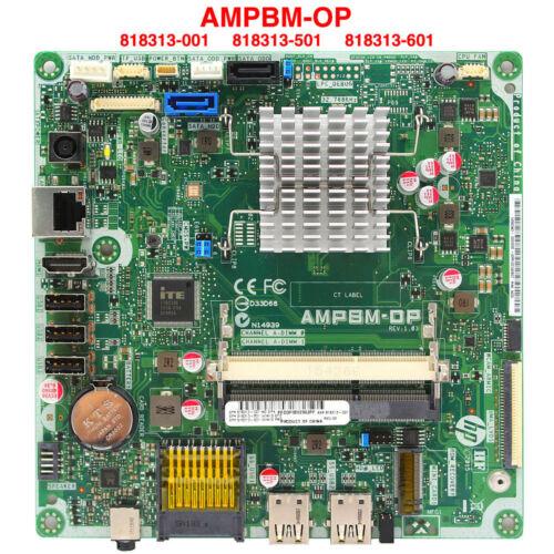 FOR HP 22-3160na 818313-001 AMPBM-DP REV:1.03 AiO Motherboard w// AMD CPU