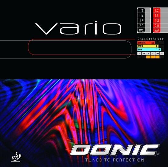 Donic Vario Vario Vario  Tischtennis-Belag Tischtennisbelag 31f529