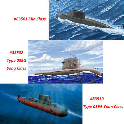 HobbyBoss 1/350 83501 Plan Kilo Class Submarine Model Kit