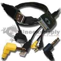 Kenwood Kca-ip300v Ipod Adapter Cable Ddx-7029 Ddx-8022bt Ddx-8029 Dnx-5120 on sale