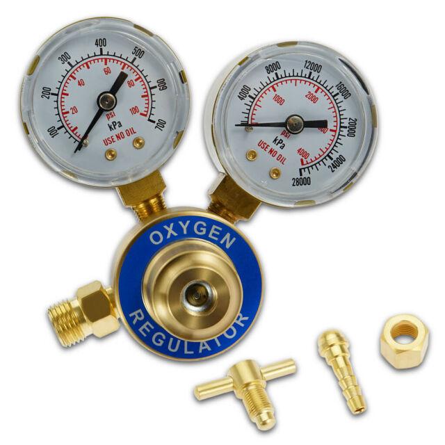 CGA 540  Welding Gas Welder Oxygen Regulator Oxy For Victor Torch Cutting Kits