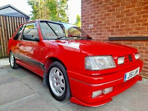 Peugeot 309, 1992. 2 owners since new.  Full PTS kit, alloys, GTI interior etc..