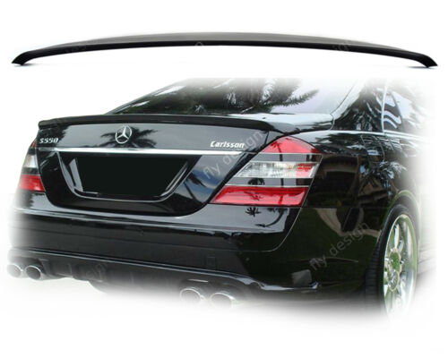Obsidiana painted Type mercedesclass w221 AMG Black 197 labio ABS aerodinamico