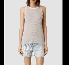 BN ALL SAINTS Women's  Evis Bar Vest Top Size L RRP $49