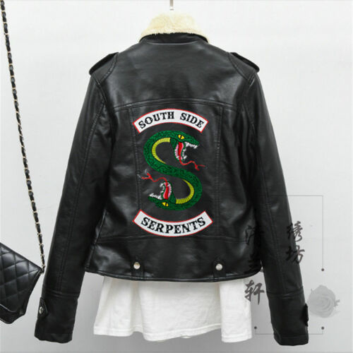 Riverdale Embroidery Iron Sew on Patches Badges jacket Applique shirt  Stickers