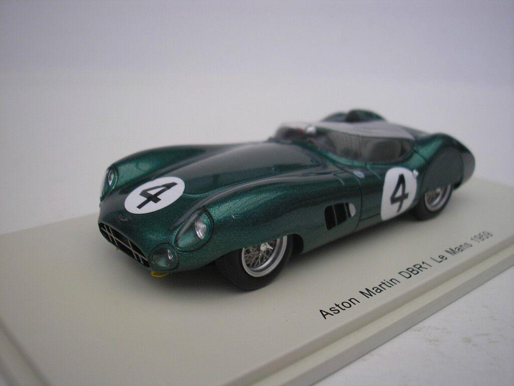 Aston martin dbr1   4 le mans 1959 s. moss 1   43 funke s2438 neu