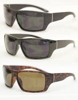 Herren Sonnenbrille Biker Brille Mens Sunglasses schwarz matt  Motorrad 524