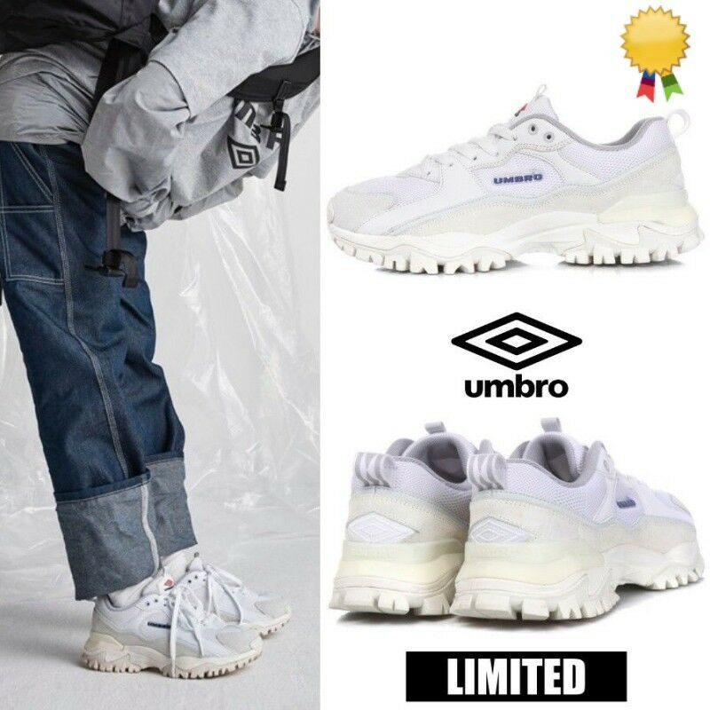 UMBRO Limited BUMPY Athletic Sneaker Dad shoes U8323CCR51 White Sz 4-12