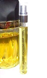 Estee-Lauder-Knowing-Eau-de-Parfum-10ml-EDP-Glass-Atomizer-Travel-Spray-Perfume