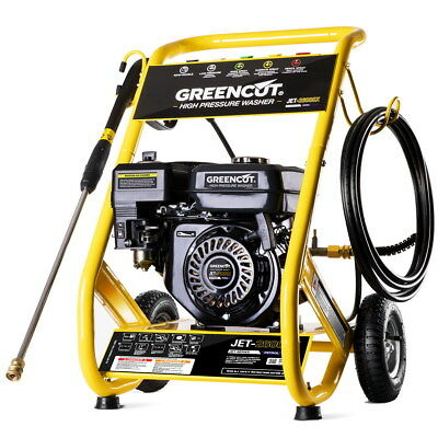 Hidrolimpiadora motor gasolina 8cv 272BAR 3950PSI alta presion -Greencut