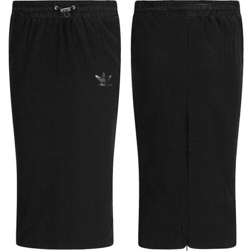 adidas Originals Skirt Damen Rock knielang Minirock Bleistiftrock XS S M schwarz