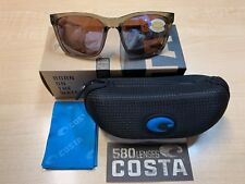 4af25d3267a2 Authentic Costa Del Mar Sunglass Panga Pag-258 Crystal / 580p Silver Mirror