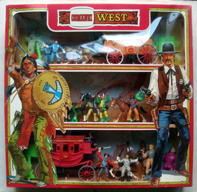 FIGURINES COMANSI - COFFRET WEST - WESTERN