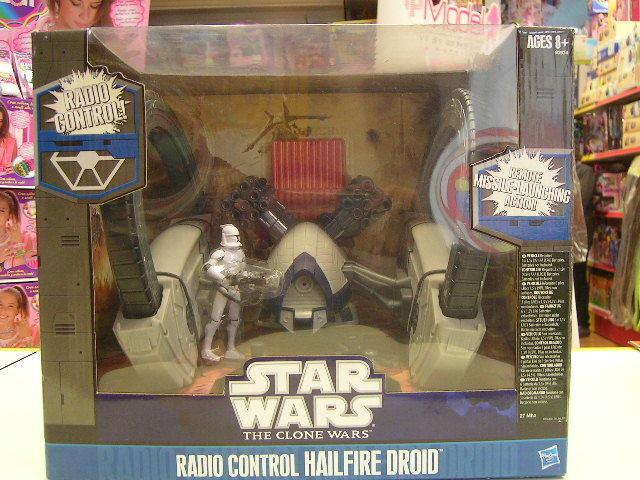 estrella estrella estrella guerras RADIO CONTROL HAILFIRE DROID COD. 93974 8e508f