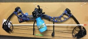 PSE D3 BLUE Bowfishing Compound Bow REEL REST FINGERS