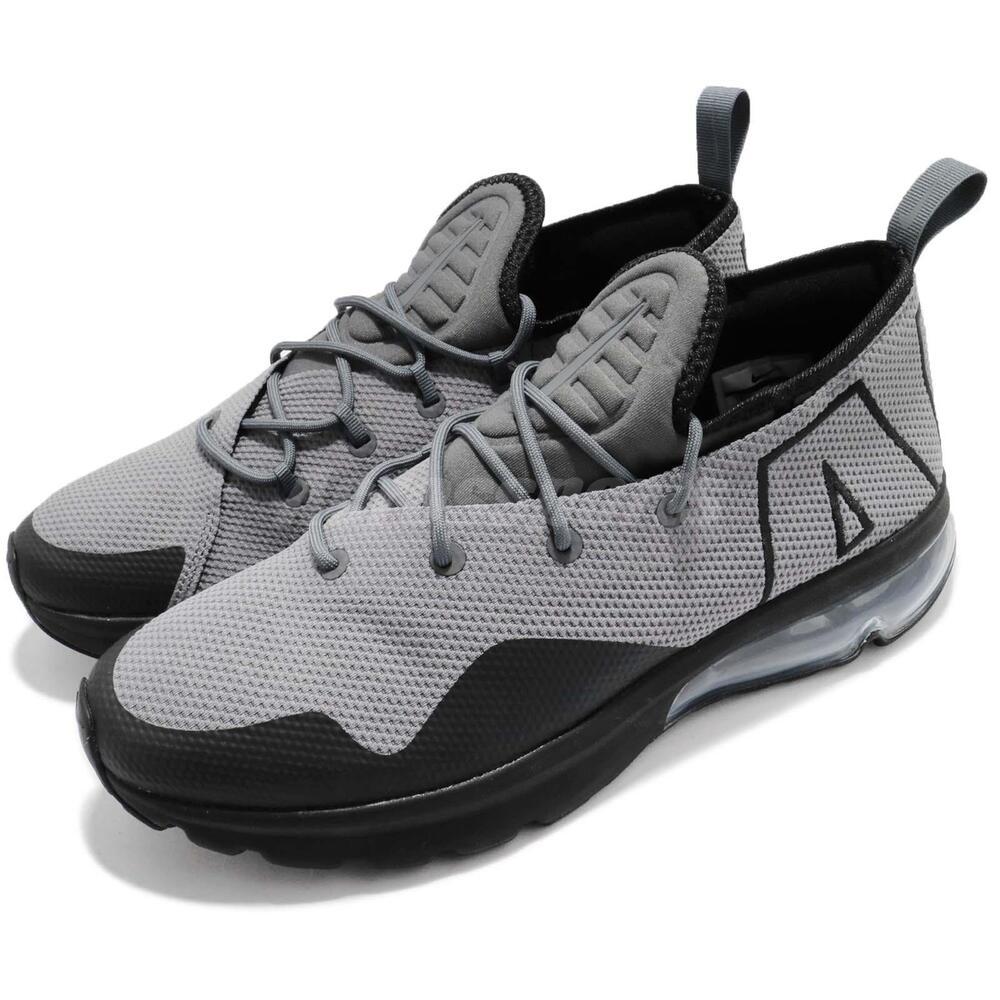 Nike Air Max Flair 50 Dark Gris noir homme fonctionnement chaussures Sneakers AA3824-003