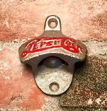 Cast Iron Vintage Pepsi-Cola Wall-Mount Soda / Beer Bottle Opener