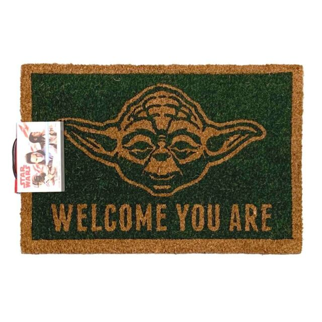 Star Wars - Yoda 'Welcome You Are' Door Mat - Licensed **FREE DELIVERY**