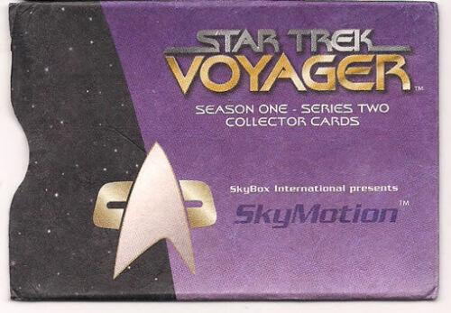 Star Trek Voyager Season 1 Series 2 Janeway SkyMotion Lenticular Chase Card
