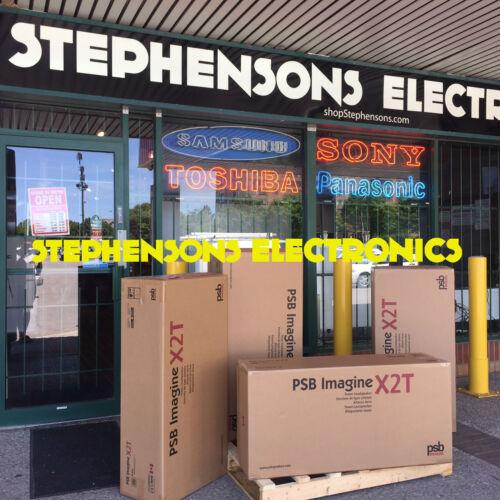 2019 BrandNewSealedPair of PSB Imagine X2T Speakers BLK Replacement Image T6