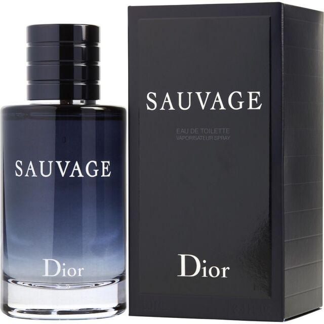 Authentic Dior Sauvage for Men 3.4 oz Eau de Toilette Fragrance Spray