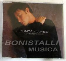 DUNCAN JAMES - CAN'T STOP A RIVER - CD Single  Nuovo Unplayed