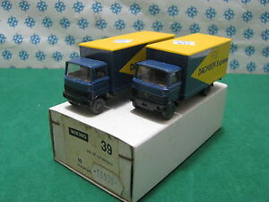 Pack de manutention Wiking n ° 39 - Volkswagen W 181 Dachser Express Rare