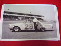 1963 Ford Nascar 29 Race Car 11 X 17 Photo Picture