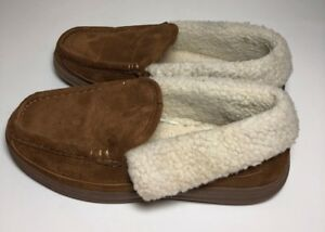 meet official images arrives Mens Craftsman Tools Slippers Fabric Suede like Uppers w/ Faux Fur ...