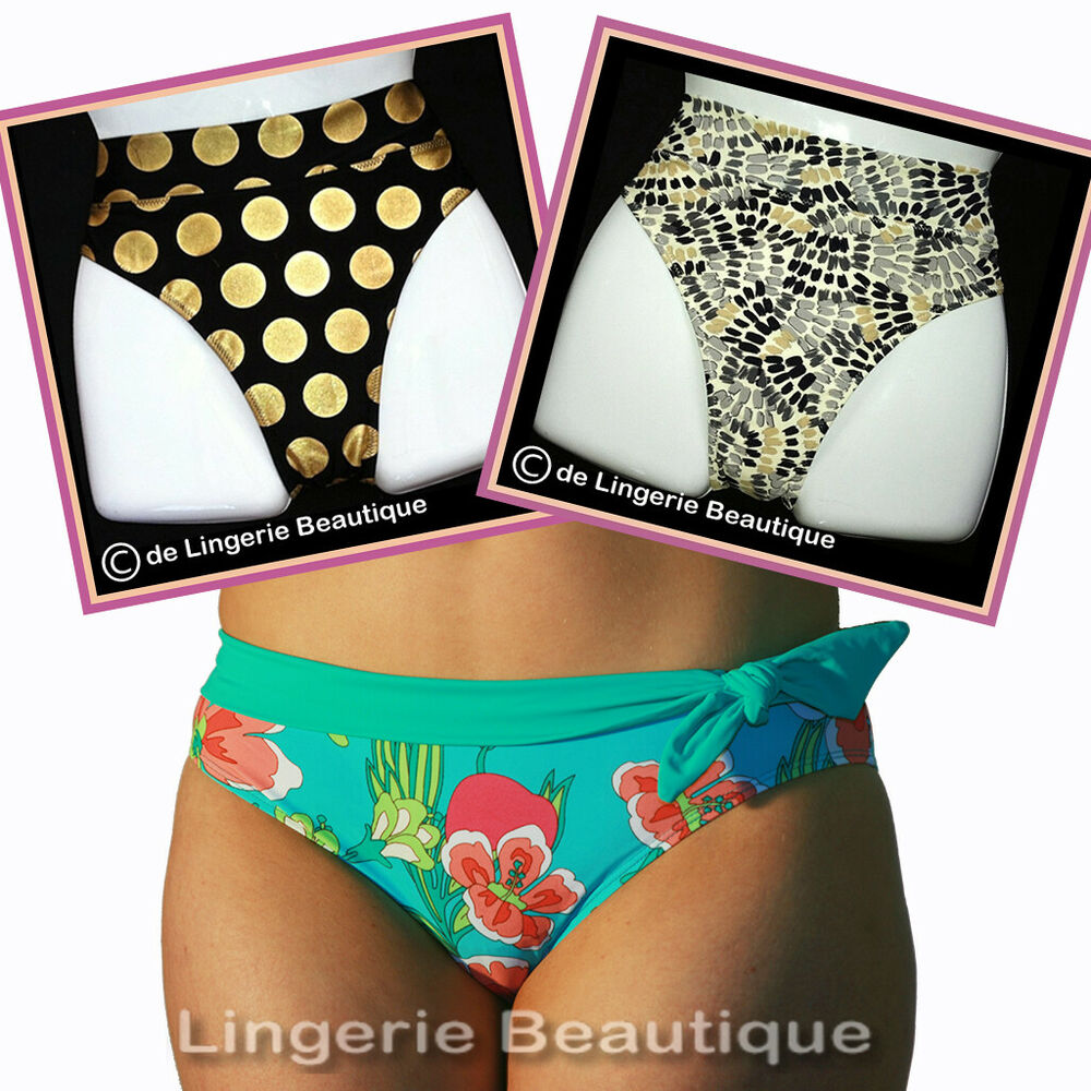 * Vente * Femmes Assorties Bas De Bikini Made By Full-filled Taille 10 - 22
